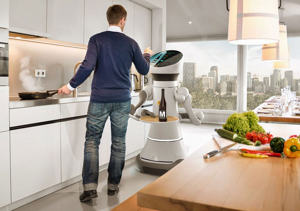 future robots in the home