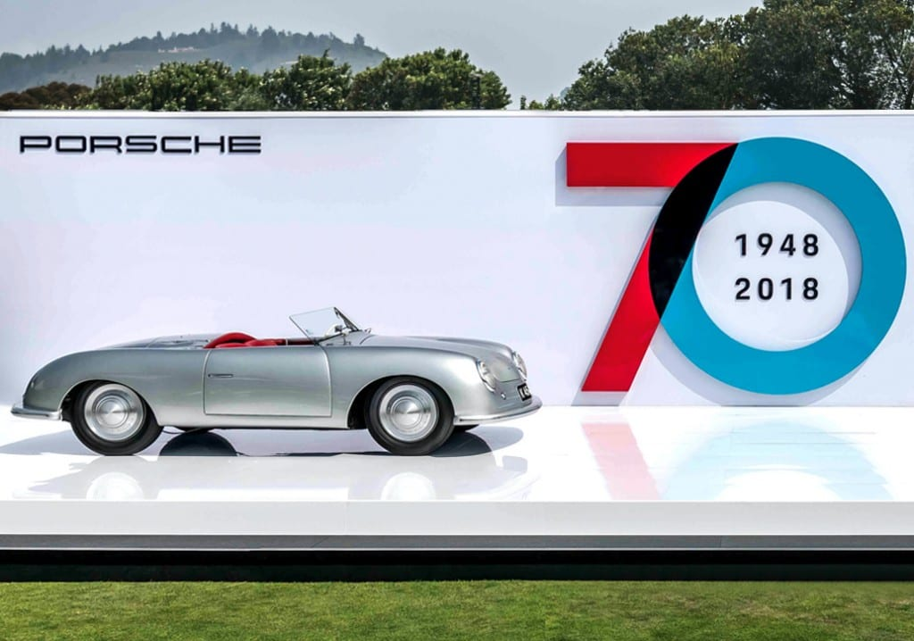 Porsche turns 70 at the Concours d'Elegance